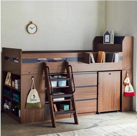 木製システムベッド1